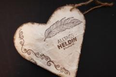 Herz aus Tetrapack