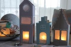 Lichthäuser aus Tetrapack