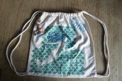 Stoffbeutel mit Meerjungfrauen-Motiv
