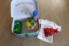 Kinderkoffer mit diversen Kinderspielen