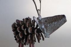 Tannenzapfen-Rentier