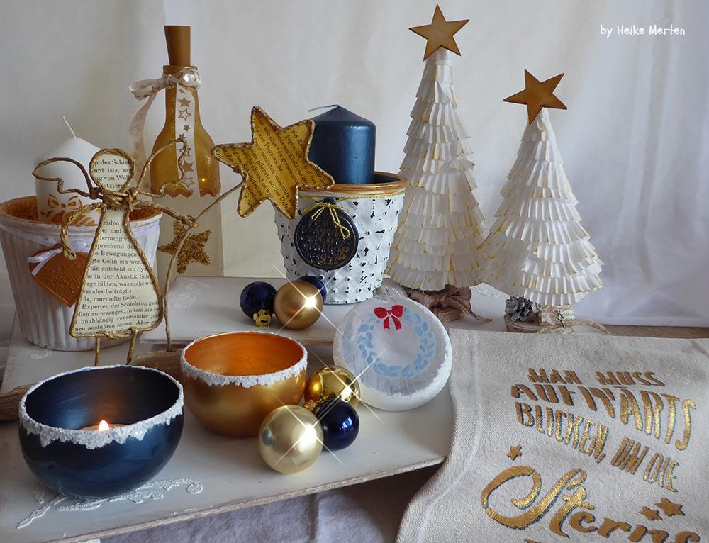 Weihnachtliche Deko 2017