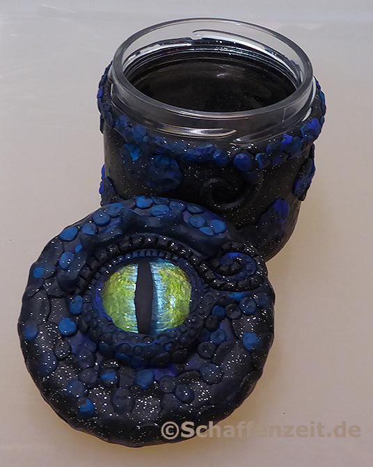Drachenglas-schwarz