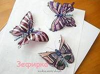 Schmetterlinge aus PET-Flaschen