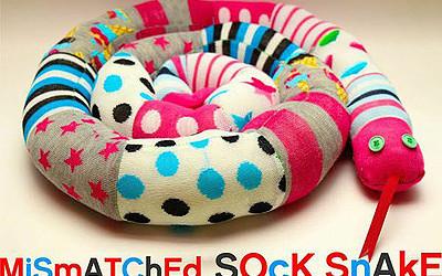 Nähanleitung: Sockenschlange