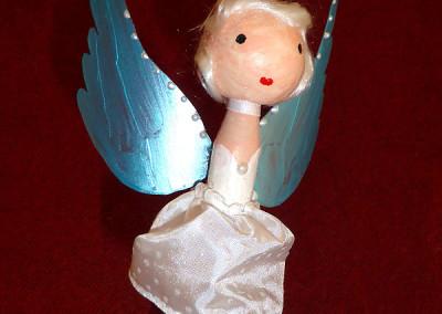 Wäscheklammer-Engel