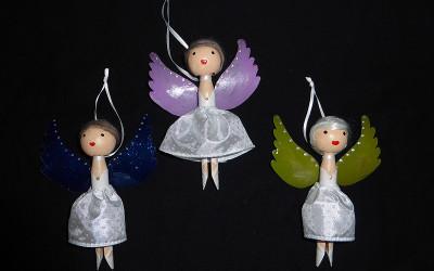 Bastel-Tipp: Engel aus Wäscheklammern